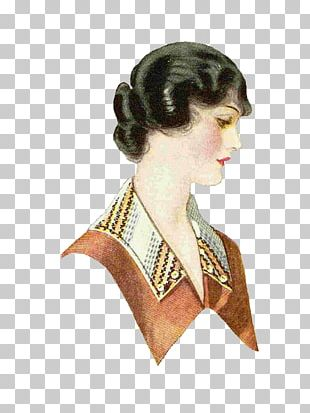 Hairstyle Fashion Vintage Clothing Woman PNG