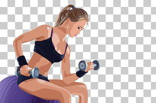 Physical Fitness Physical Exercise Woman Euclidean PNG