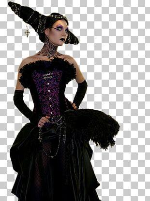 Costume Gothic Fashion Et Tu Me Diras France Halloween PNG