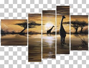 Oil Painting Canvas Décoration PNG