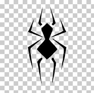 Spider-Man Logo Graphic Design PNG