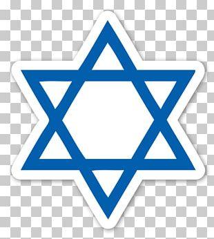 Star Of David Judaism Jewish Symbolism Religious Symbol PNG