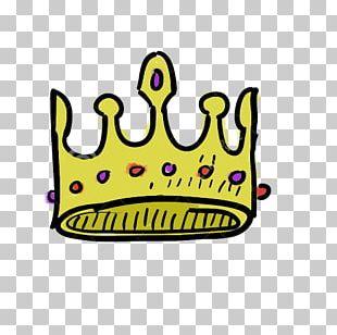Doodle Crown Drawing Illustration PNG