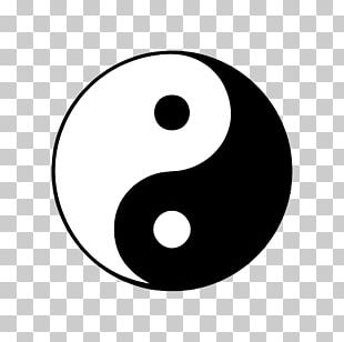 Symbol Yin And Yang PNG