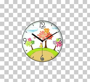 Quartz Clock Living Room Bedroom Alarm Clock PNG