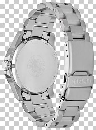 Watch Strap Eco-Drive Citizen Holdings Steel PNG