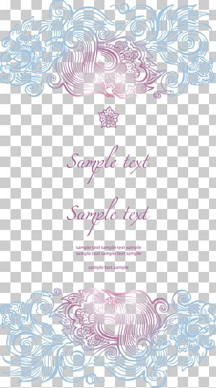 Wedding Invitation Greeting Card PNG