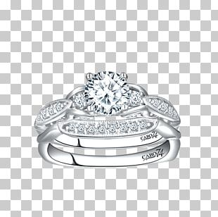 Wedding Ring Diamond Jewellery Gold PNG