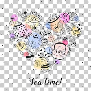 Tea Party Coffee Teapot Poster PNG