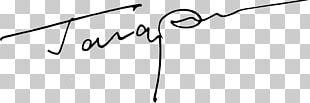 Signature Drawing PNG