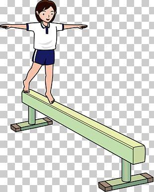 Balance Beam Artistic Gymnastics Sport Average PNG
