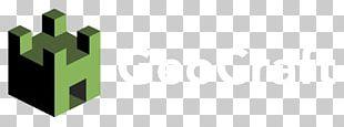 GeoFort GeoCraft Minecraft Logo Heel PNG