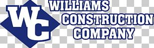 Williams Construction Company Williams Construction Inc Architectural Engineering Construction Management Logo PNG