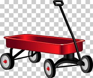 Car Toy Wagon Radio Flyer Child PNG