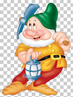 Snow White Seven Dwarfs Sneezy Dopey Grumpy PNG