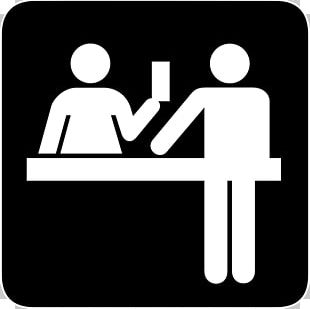 Desk Front Office Receptionist Computer Icons PNG