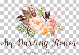 Floral Design Watercolor Painting Art PNG