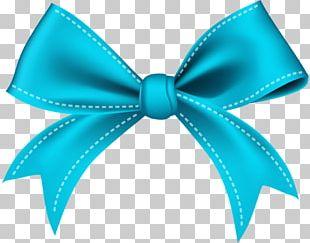 Ribbon Blue PNG