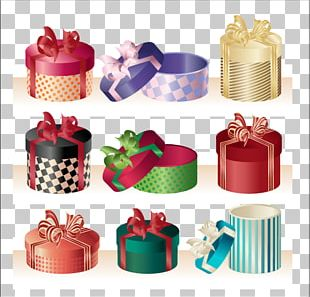 Gift Wrapping Gift Card PNG