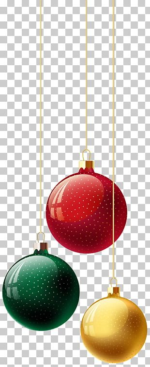 Christmas Ornament Design Product PNG