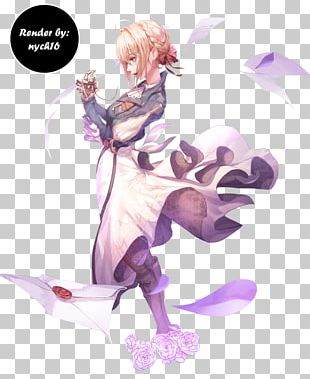 Violet Evergarden Anime Art Kyoto Animation PNG