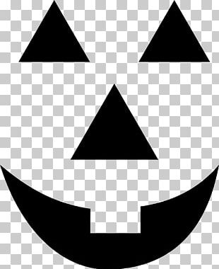 Jack-o'-lantern Halloween Silhouette PNG