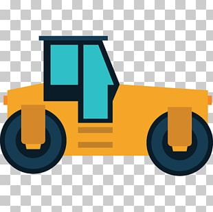 Road Roller Architectural Engineering Heavy Machinery PNG