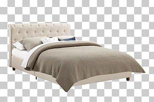 Bed Frame Mattress Platform Bed Upholstery PNG