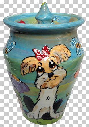 Ceramic Vase Pottery Lid Urn PNG