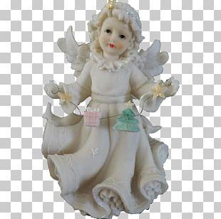 Christmas Ornament Figurine Angel M PNG