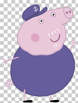 Grandpa Pig George Pig Daddy Pig Granny Pig PNG