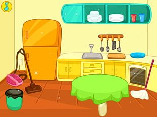 Table Kitchen Cleaning PNG