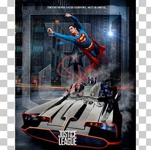 Batman Wonder Woman Superman Robin Batmobile PNG