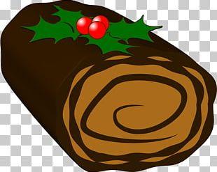 Ice Cream Champagne Yule Log Christmas Cake Birthday Cake PNG