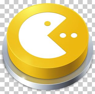 Pac-Man Button Video Game Computer Icons PNG
