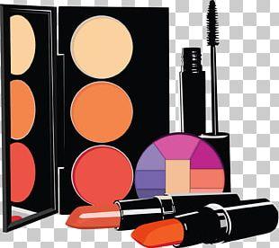 Cosmetics Eye Shadow Lipstick Beautician PNG
