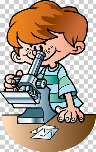 Child Drawing Microscope PNG