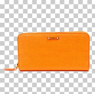 Wallet Coin Purse Yellow PNG