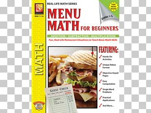 Fast Food Menu Math For Beginners Market Math For Beginners The Pepperoni Parade And The Power Of Prayer Book PNG