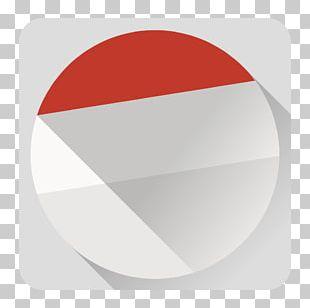 Circle Angle Red Font PNG