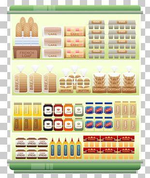 Supermarket Shelf Goods PNG
