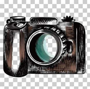 Canon EOS Camera Photographer Drawing PNG