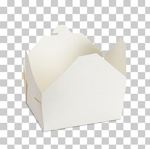 Take-out Paper Box Packaging And Labeling Disposable Food Packaging PNG
