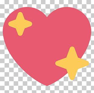 World Emoji Day Heart Emoticon Sticker PNG