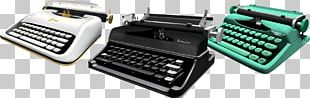 IPad Typewriter Paper Office Supplies PNG