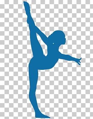 Artistic Gymnastics Silhouette Balance Beam PNG