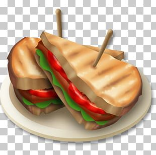Bacon Toast BLT Hay Day Egg Sandwich PNG