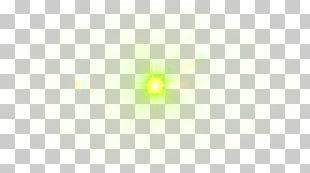 Symmetry Yellow Pattern PNG