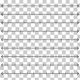 Number Line Fraction Worksheet Mathematics PNG