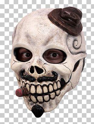 La Calavera Catrina Day Of The Dead Mask Costume PNG